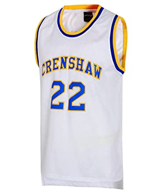 1b400aaff8db JOLI SPORT Omar EPPS Quincy McCall 22 Crenshaw High School Men s Basketball  Jersey S-XXXL