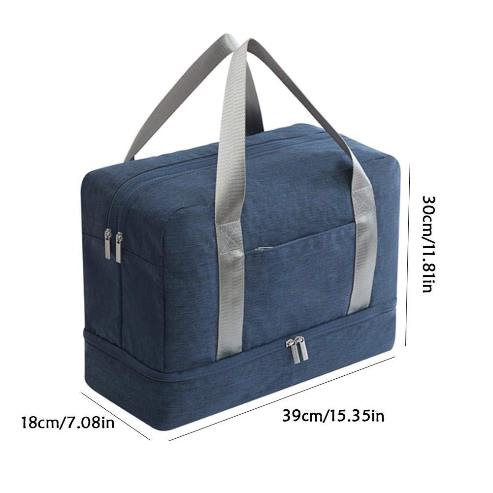 Bolsa de deporte para mujeres y hombres, bolsa de viaje grande impermeable para el hogar, zapatos y bolsa de lavado, natación, viaje, natación, fitness, ...