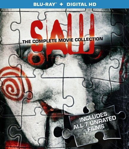 Saw 1-7 Movie Collection [Bluray + Digital] -