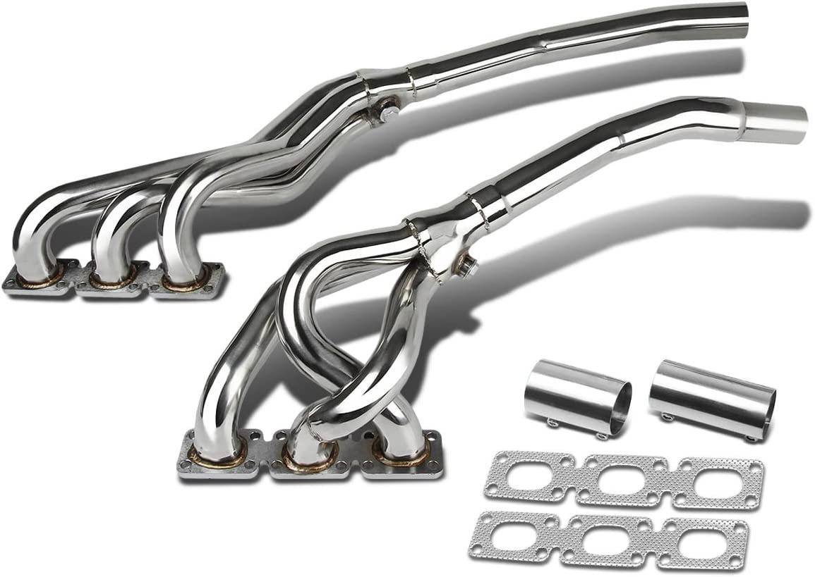For BMW 3-Series E46 6-2 Stainless Steel Exhaust Header I6 engine