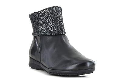 836da18a2c59 Mephisto, Damen Stiefel   Stiefeletten, Schwarz - Schwarz - Größe  36.5 EU