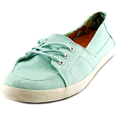 eed0291040 Vans Womens Palisades Vulc Washed Canvas Sneakers beachglass 5