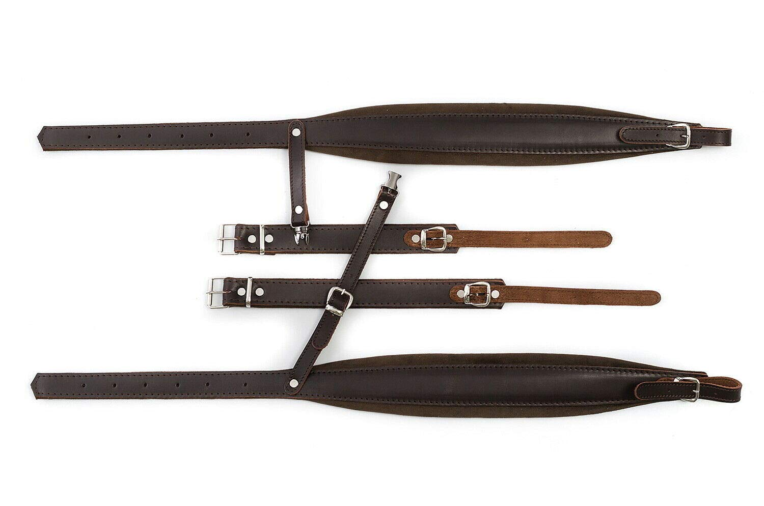 New Real Leather Quality Shoulder Straps 96,80,72 Bass Accordion Belts Correas by Used musical instruments