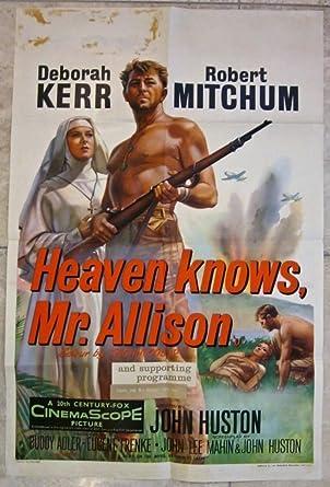 Deborah kerr -Robert Mitchum dieulois