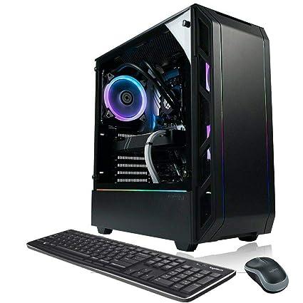 XOTIC PC P350X Elite Gaming Desktop PC AMD Ryzen 7 2700X 8-Core 4.3GHz