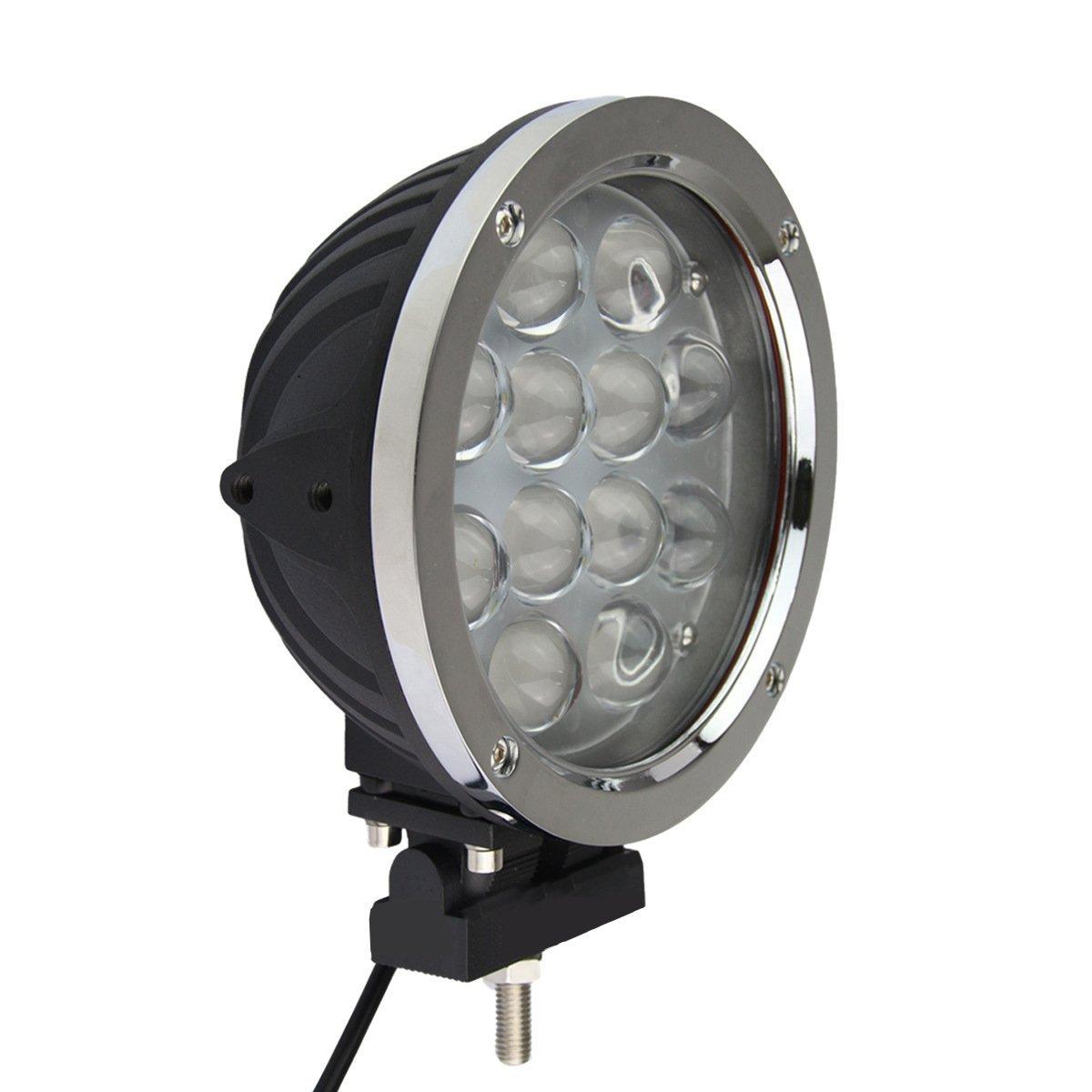 Luoov Universal hinzufügen auf 17,8 cm 60 W LED Spot Licht Bar für Auto Scheinwerfer Nebel Licht Off Road Jagd Out Tür-Set