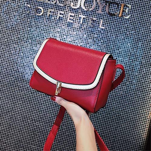 multiplerosso Hand New Crossbody Bag Womens Crossbody Bag bianco con tasche Fannb 29YDIHWE