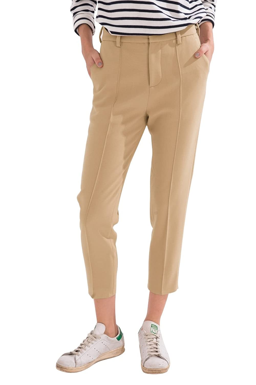 Frontrowshop Tapered Capri Pants