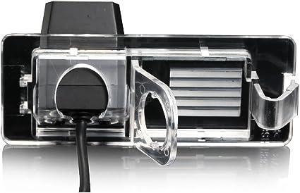 2016-2019 para Coches Sin C/ámara Trasera Montado Negro Brillante Insignia Cubiertas Delantero y Trasero Renault Megane MK4 Rs Gt