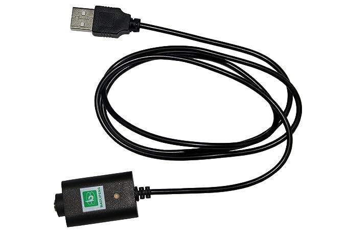 500 mAh 510 USB Cable cargador (Compatible con baterías eGo ...