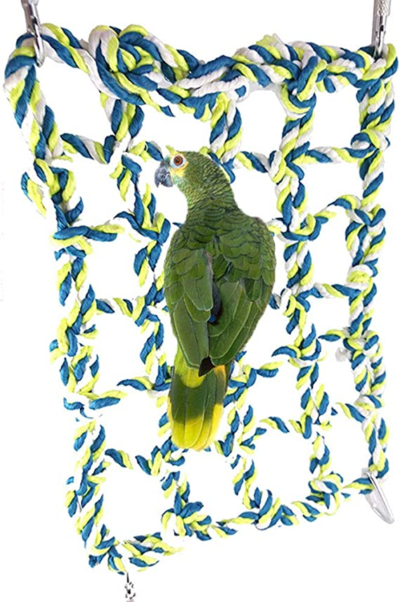 Hamaca de escalera para pájaros juguete para mascotas periquitos periquitos cacatúas pinzones canarios cacatúas africanas grises hámster de animales pequeños jaula de chinchilla: Amazon.es: Productos para mascotas