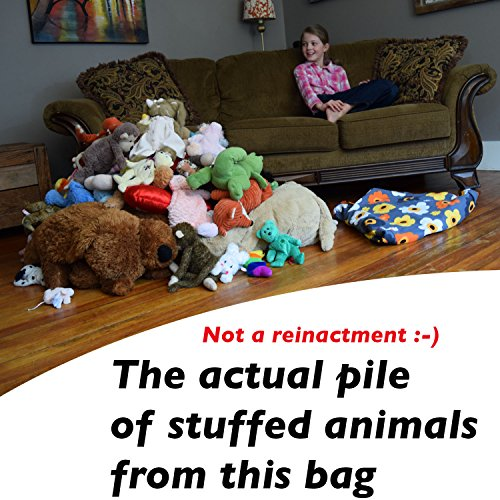With Mk Extra Large Stuffed Animal Storage Bean Bag