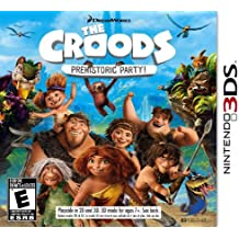 The Croods: Prehistoric Party! - Nintendo 3DS by D3 Publisher