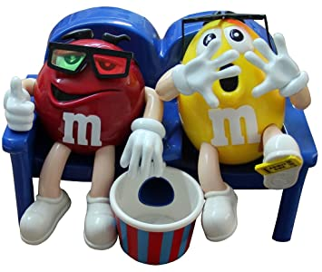 M & M – Candy Dispenser – Dispensador cine Theater Theatre Figura de dispensador de dulces