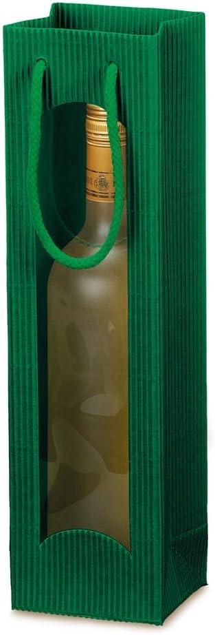 2 Flaschen 10 Unidades Rojo Weinkarton24.com Bolsa para Transportar Botella de Vino