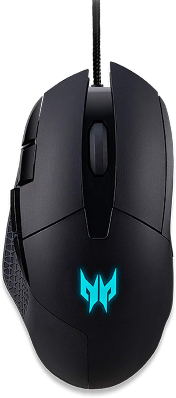 Acer Predator Cestus 315 Gaming Mouse with PixArt Sensor, Adjustable DPI & 8 Buttons Including Burst Fire