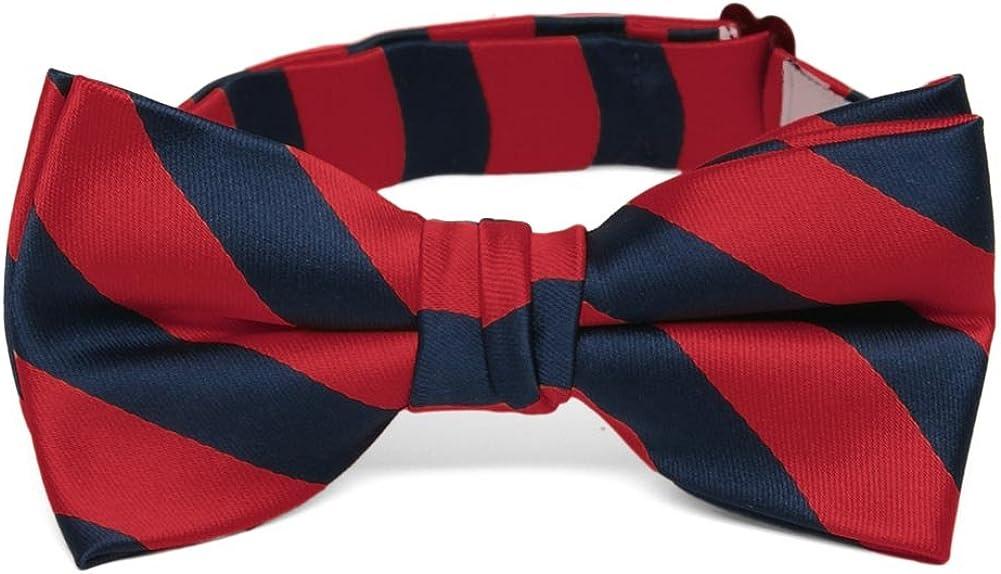 TieMart Boys Red Bow Tie