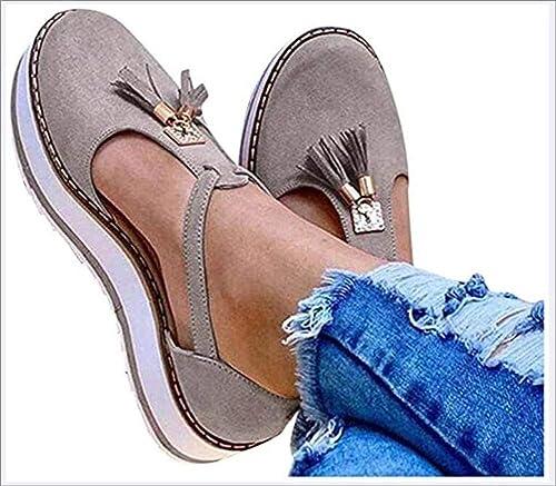 OshoeQ Women's Platform \u0026 Wedge Sandals