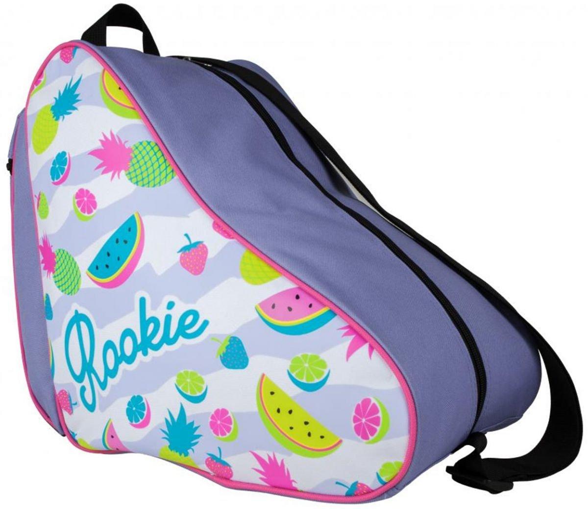 ROOKIE Fruit Boot Bag, Mochila Unisex Adulto, Multicolor (White/Multi), 15 x 17 x 25 cm RKE-BAG-0008