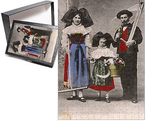 Photo (Traditional French Folk Costumes)