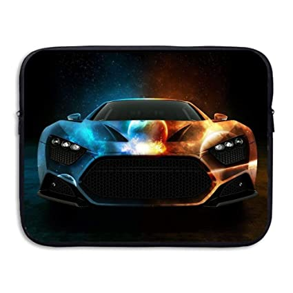 Amazon com: Laptop Sleeve Bag Cool Ice and Fire Car