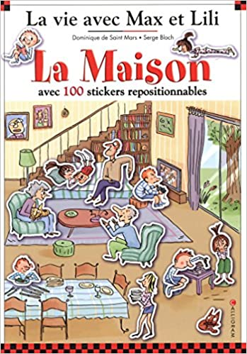 En ligne La Maison : Avec 100 stickers repositionnables pdf, epub ebook