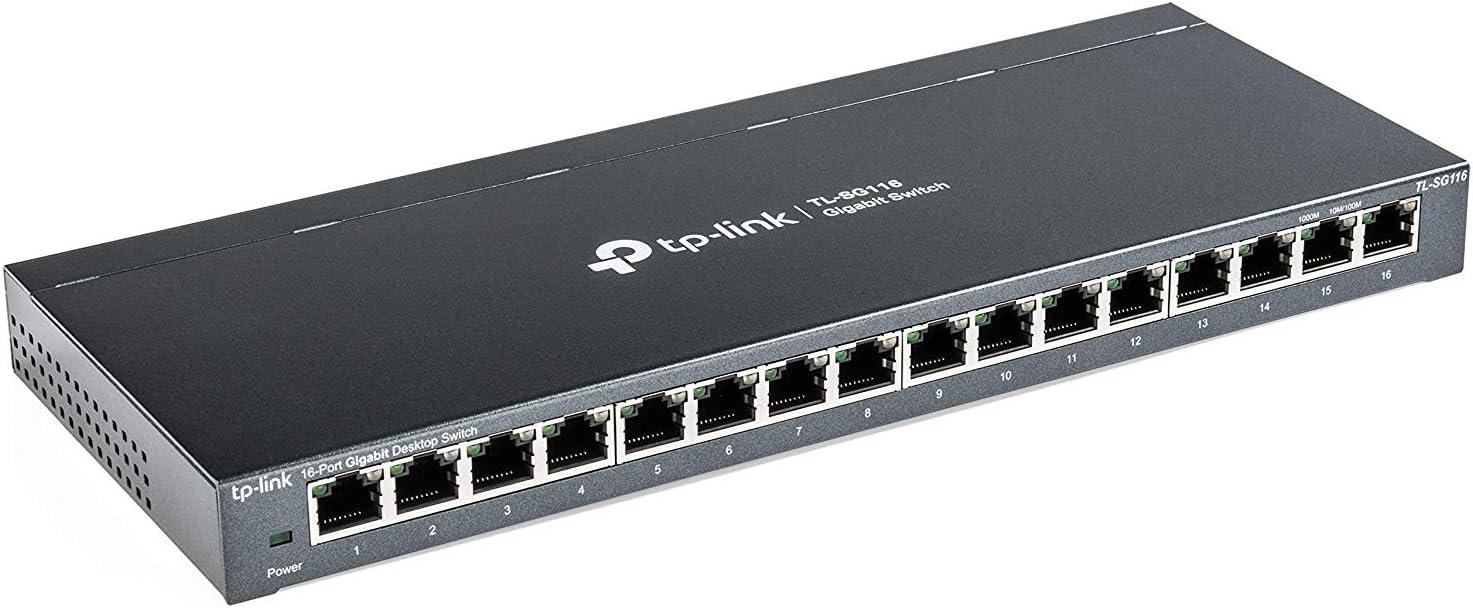 Amazon.com: TP-Link 16 Port Gigabit Ethernet Network Switch ...