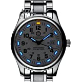 Gosasa Tritium Luminous Military Dive Sports Waterproof Quartz Mens Watch