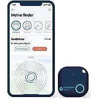 musegear Key Finder met Bluetooth App uit Duitsland I Maximaal gegevensbescherming   donkerblauw 1 pakje I GPS tracking…