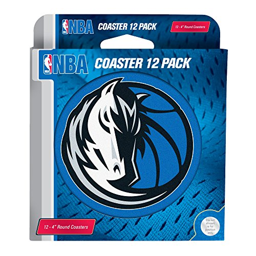 NBA Dallas Mavericks Pulpboard Coasters, Set of 12