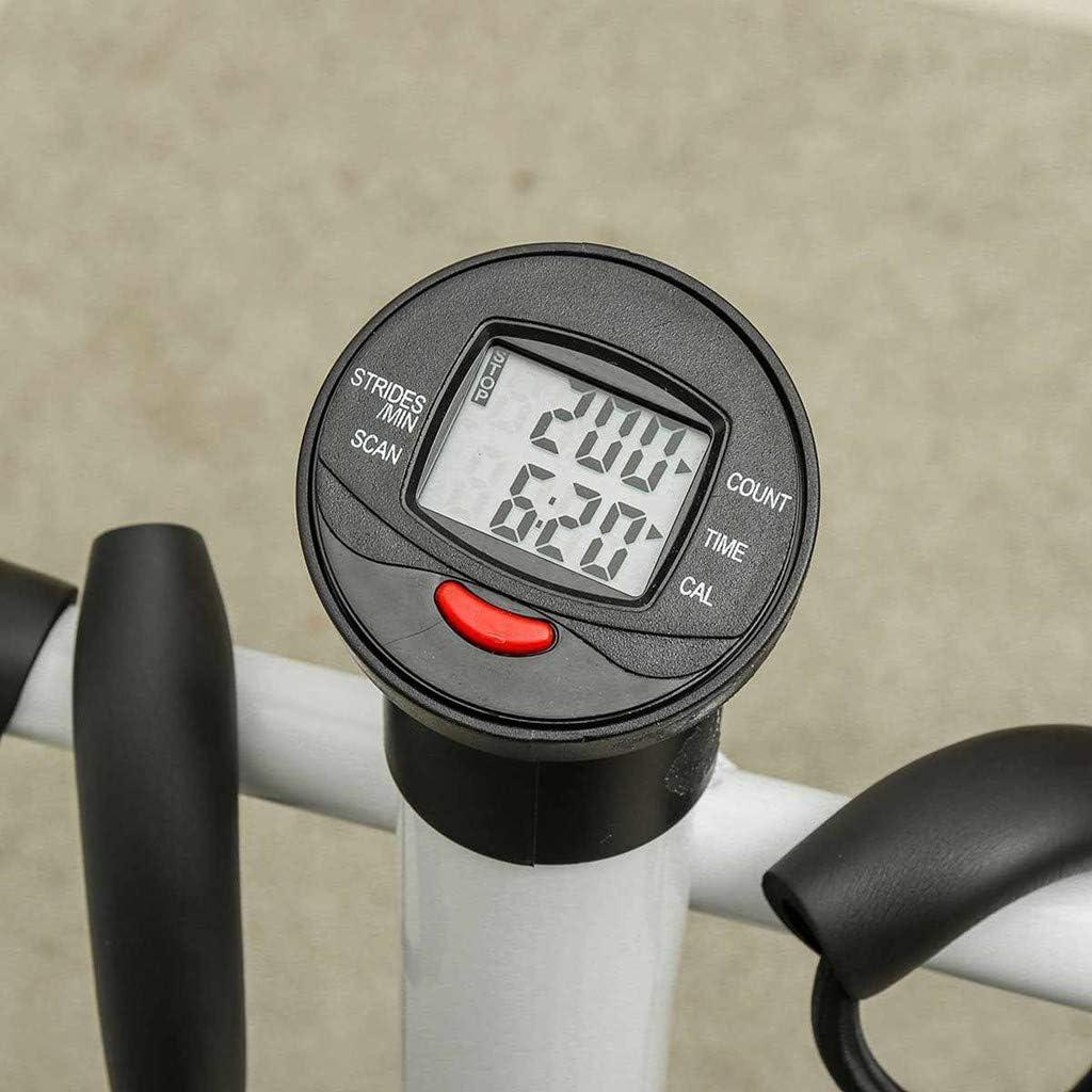 Health /& Fitness Twist Stepper Step Machine w//Handle Bar and LCD Monitor