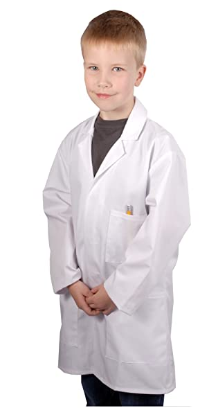 Children's Lab Coat (for ages 5-7 years): Amazon.co.uk: Clothing