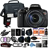 Canon EOS Rebel T6i 18MP Digital SLR Camera Retail Packaging 24 Piece Bundle (18-135mm IS STM)