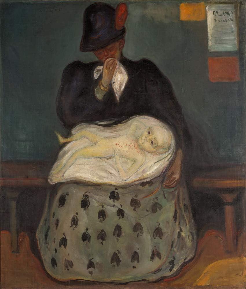 Edvard Munch Giclee Arte Carta Stampa Opere dArtee Dipinti Poster Riproduzione al Tavolo della Roulette a Monte Carlo