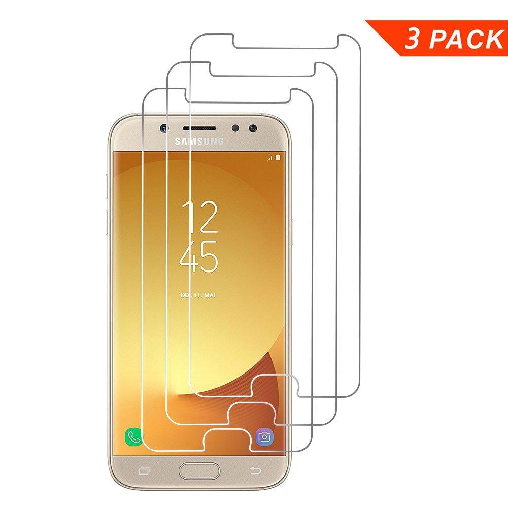 Pack Margot Cristal Templado para Samsung Galaxy J Protector de Pantalla Ultra