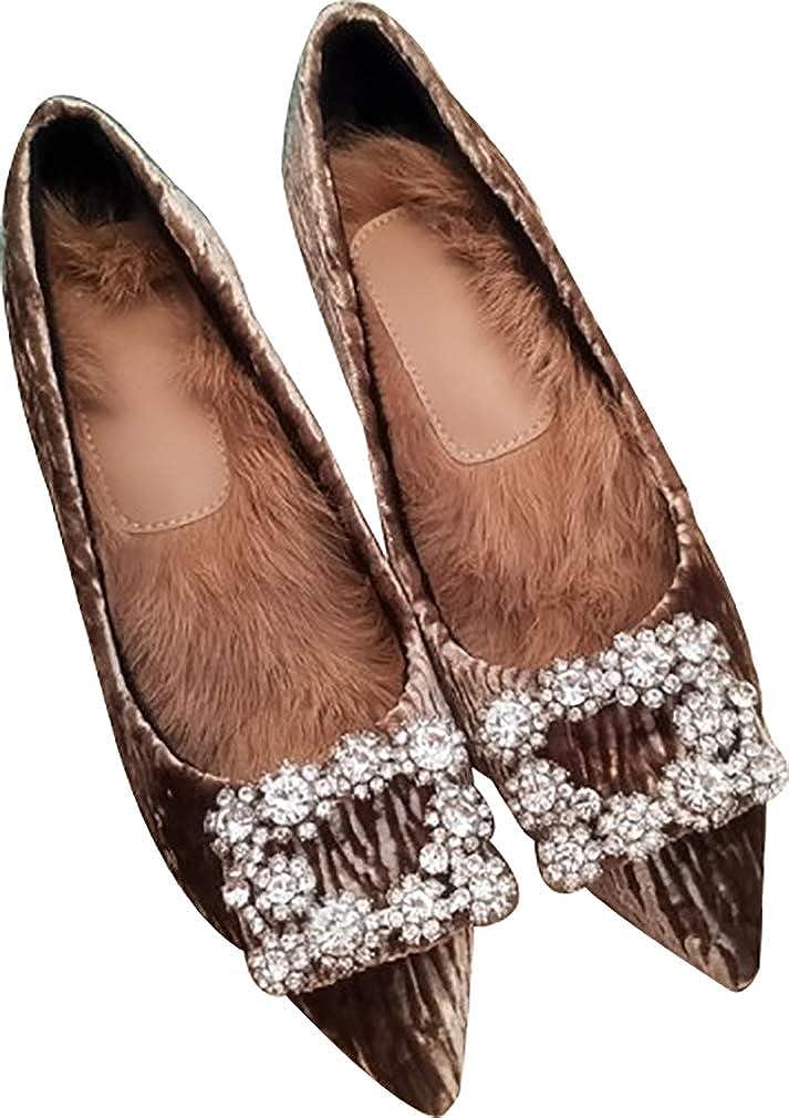 Calaier Damen asheno 6CM Stiletto Schlüpfen Pumps Schuhe