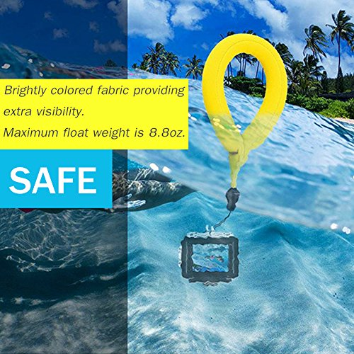 PROND Waterproof Camera Float, Camera Floating Wrist Strap, Universal Floating Wristband