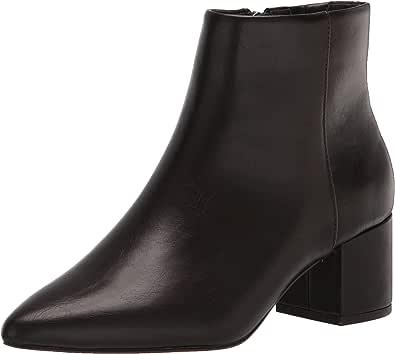 The Drop Women's Jessi Side Zip Block Heel Boot Ankle