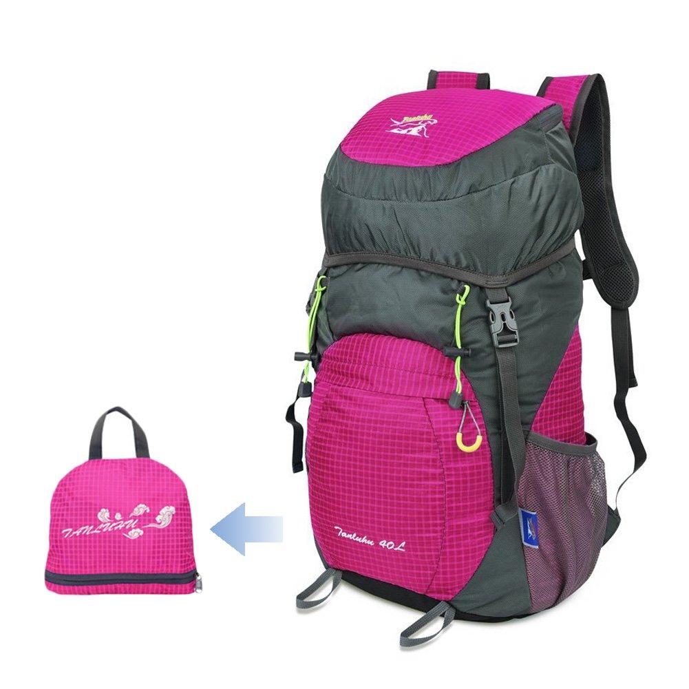 41075ecce8fa Amazon.com   Mestart Packable Hiking Backpack Ultralight Foldable  Waterproof Travel Daypack Sports Bag   Sports   Outdoors
