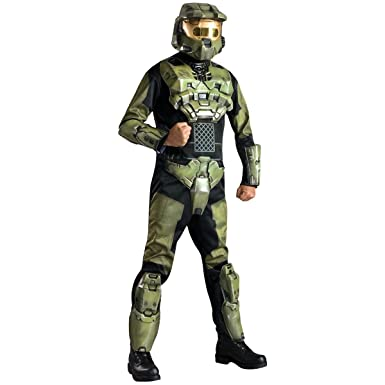 sc 1 st  Amazon.com & Amazon.com: Halo 3 Deluxe Adult Video Game Costume: Clothing