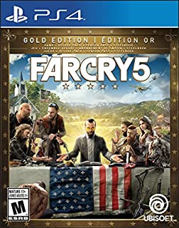 Far Cry 5 Gold Edition (Includes Steelbook + Extra Content + Season Pass subscription) - Trilingual - PlayStation 4 (B072LRSP84) | Amazon Products