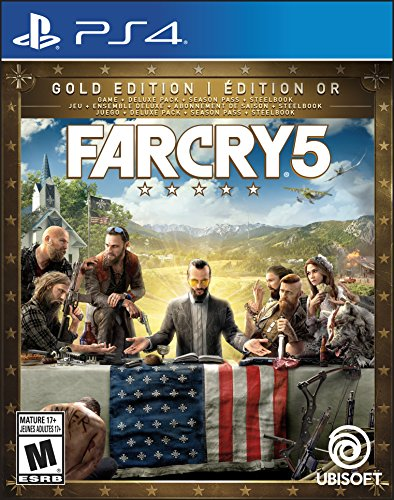 Far Cry 5 Gold Edition (Includes Steelbook + Extra Content + Season Pass subscription) - Trilingual - PlayStation 4
