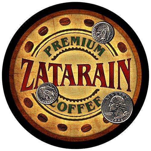 Zatarain Family Coffee Rubber Drink Coasters - Set of 4