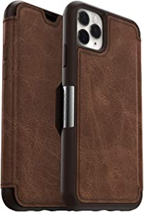 OtterBox STRADA SERIES Case for iPhone 11 Pro Max - ESPRESSO (DARK BROWN/WORN BROWN LEATHER)