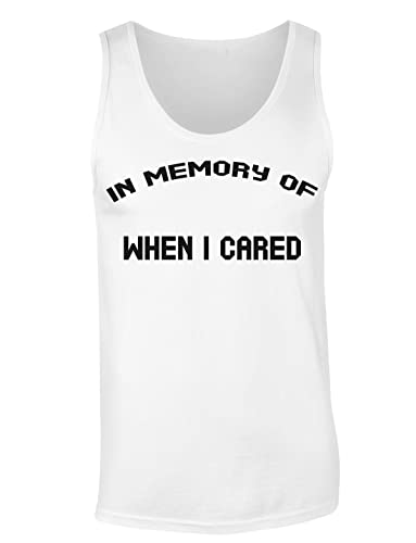 In Memory Of When I Cared Camiseta sin mangas para mujer Shirt