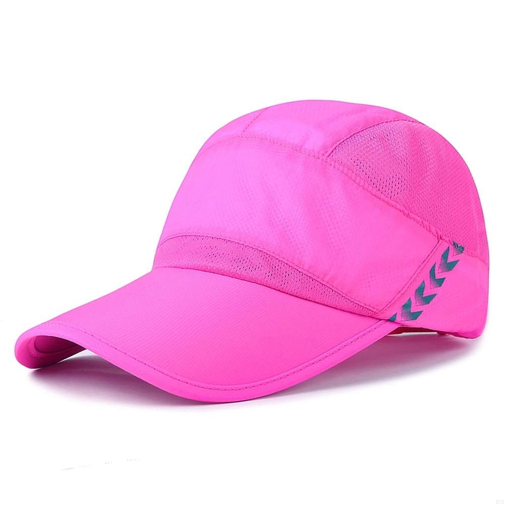 g7explorer速乾性通気性ランニング屋外帽子キャップのみ2オンス B07CG7NJHM Breathable, Rose Red