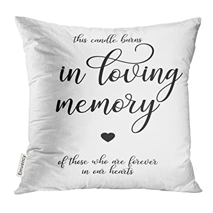 Amazon Com Golee Throw Pillow Cover Calligraphy Wedding Script Hand