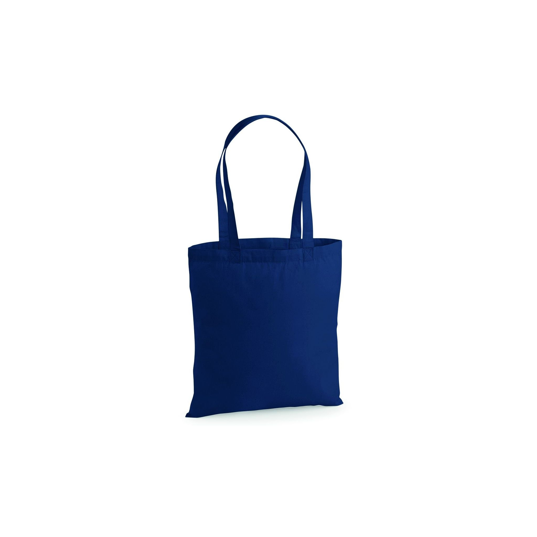 Westford Mill Premium Cotton tote (NAVY, ONE SIZE)