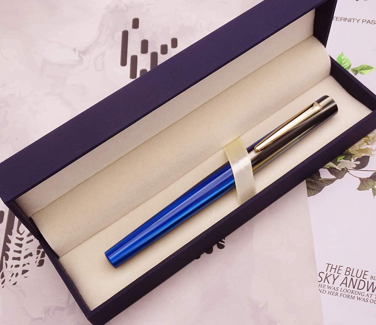 Moonman N3 Blue Celluloid Fountain Pen