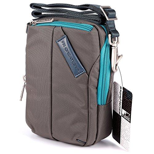 1 Shoulder Creations Men's Grey Bag Waist Fx 2 In Rw6znAvwqZ